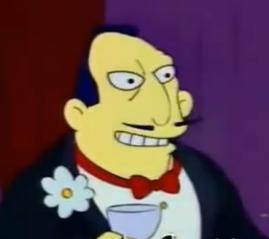 O senador Mendoza