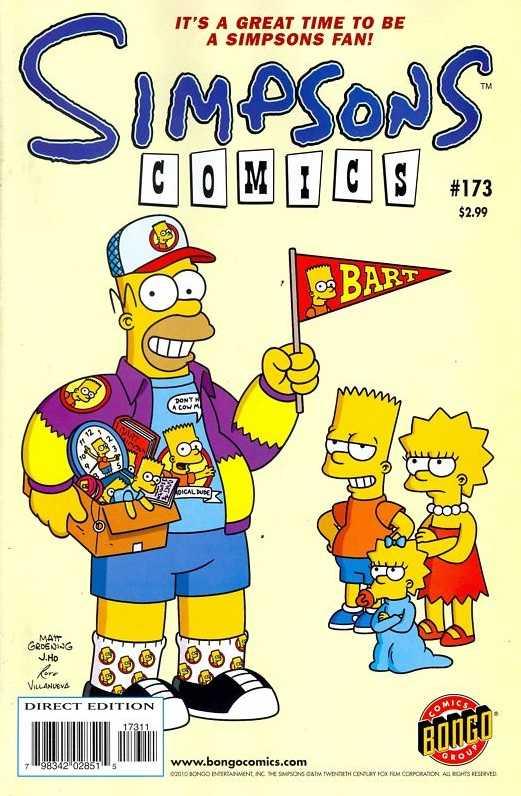 Simpsons Comics 173