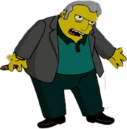 Fat Tony in The Simpsons Movie