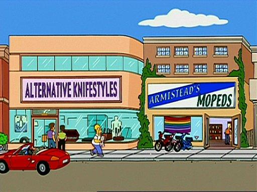 Gay Neighborhood