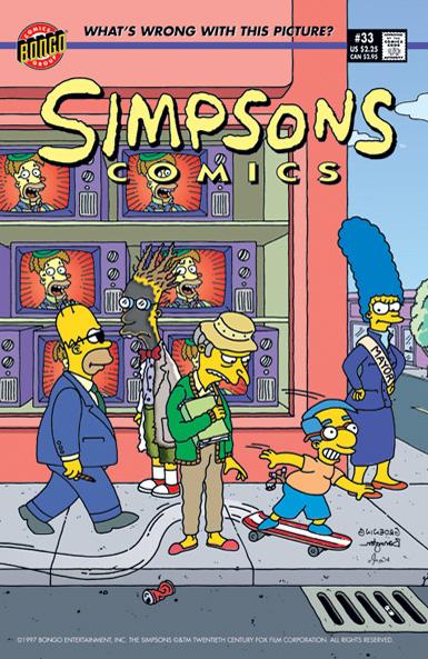 Simpsons Comics 33