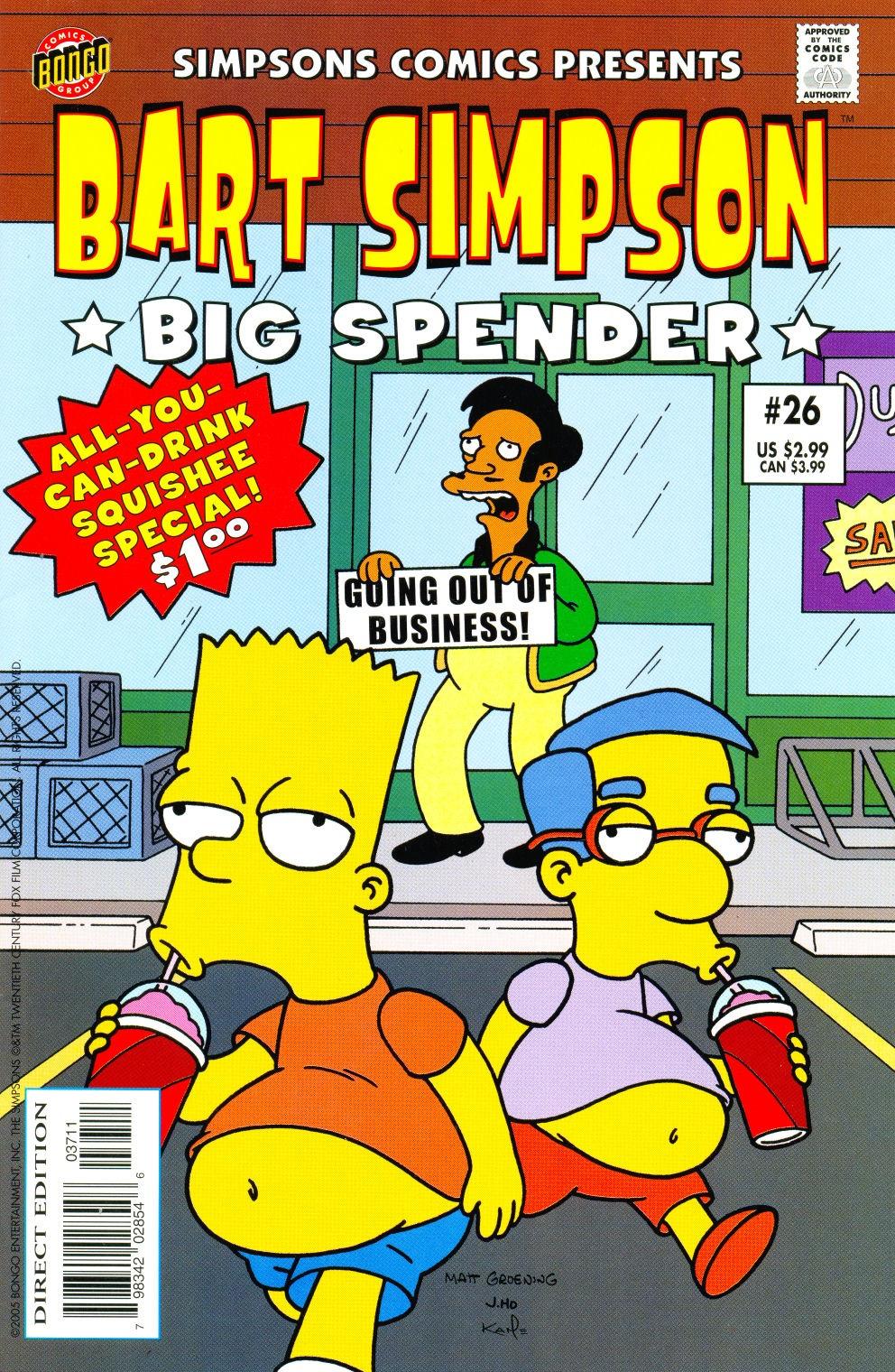 Bart Simpson Comics 26