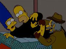 Simpsons sexo carro placa mendigo 2