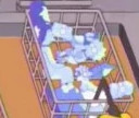 Deep Fryer operator (couch gag)