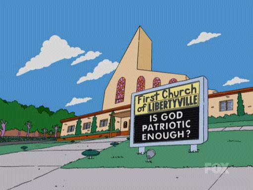 Bart-Mangled Banner/Gags