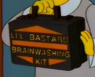 Li'l Bastard Brainwashing Kit