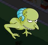 Burns monster