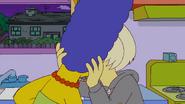 Lady Gaga Kisses Marge