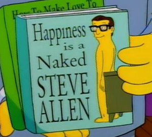 Happiness is a Naked Steve Allen