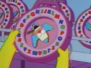 Krusty's Speak and Say