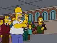 HomerAndNed'sHailMaryPass-HomerRipsUpMoney