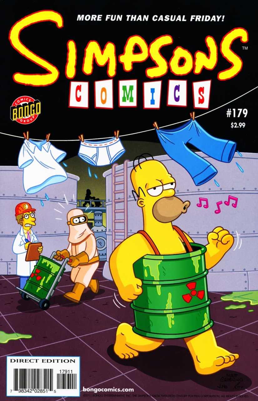 Simpsons Comics 179