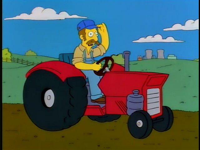 Corn Farmer (King-Size Homer)