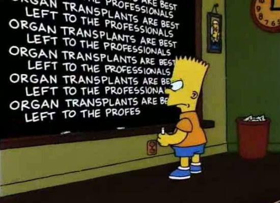 Bart Gets an Elephant/Gags