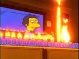 Flaming Homer