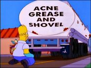 Acne Grease and Shovel