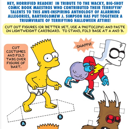 Bart Simpsons treehouse of horrors bart paper doll.png