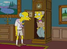 Burns smithers amarrado relógio