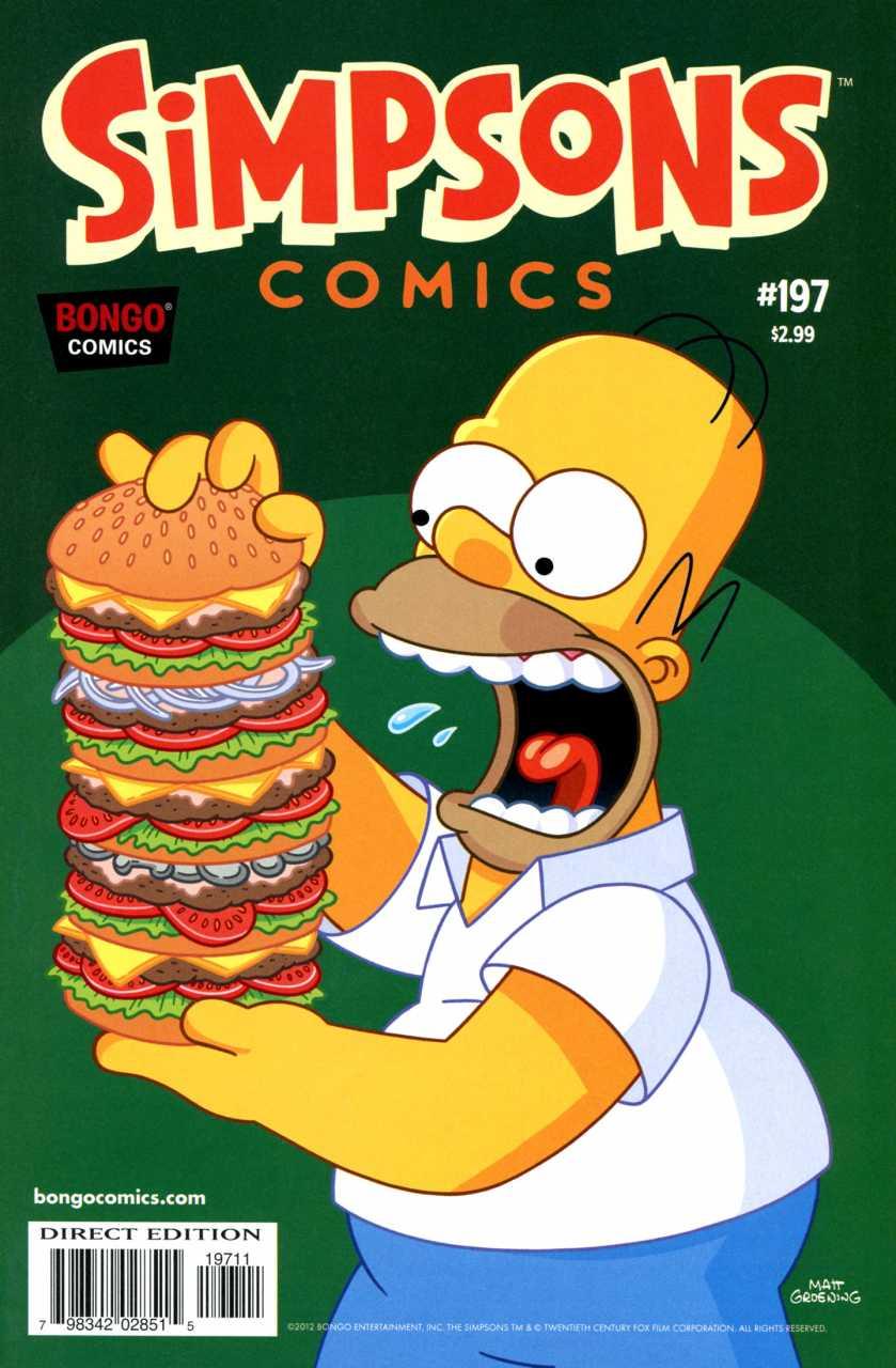 Simpsons Comics 197