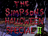 The Simpsons Halloween Special II - Title Card