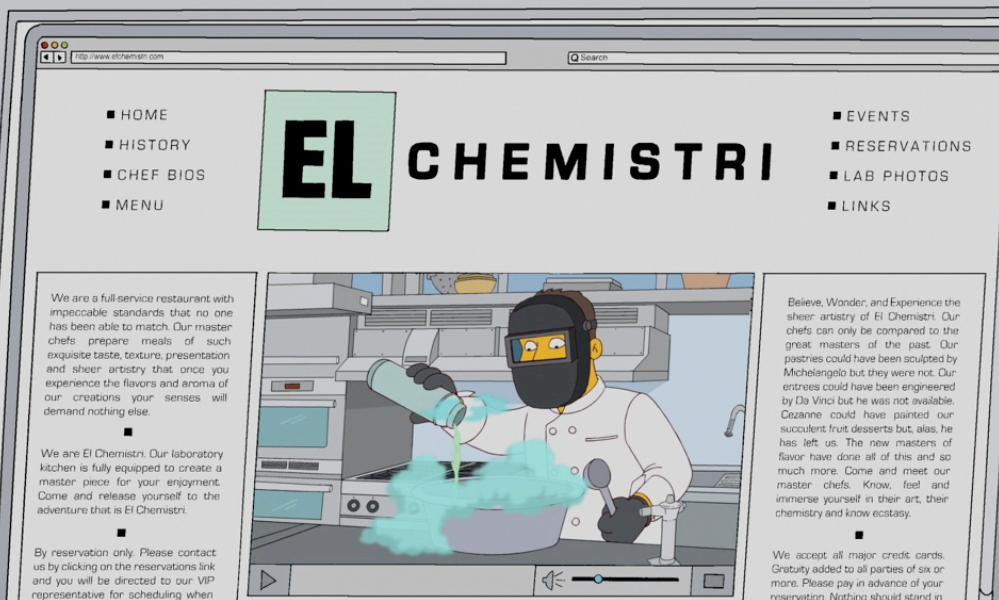 El Chemistri Website