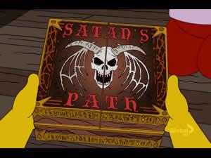 Caminho de Satan (Jogo de Tabuleiro)