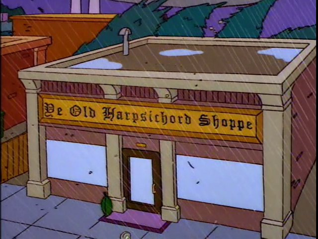 Ye Old Harpsichord Shoppe