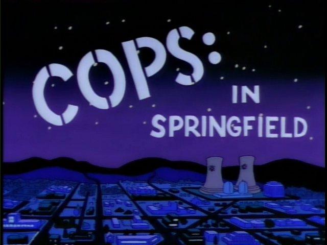COPS: In Springfield