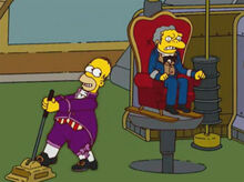 Homer máquina vingança moe 1