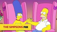 THE SIMPSONS Homer And Marge, Together Forever ANIMATION on FOX-0