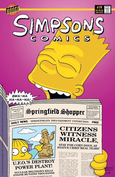 Simpsons Comics 19