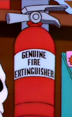 Genuine Fire Extinguisher