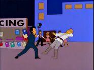 Mark Hamill Stumbling Backwards From Louie's Punch