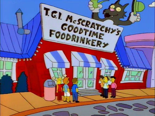 T.G.I. McScratchy's Goodtime Foodrinkery