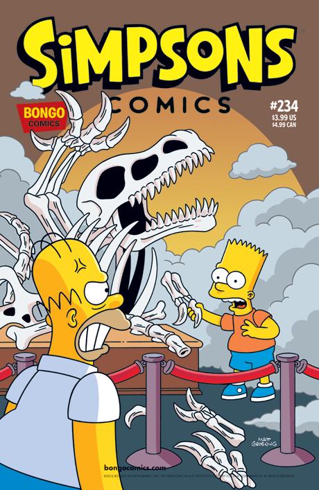 Simpsons Comics 234