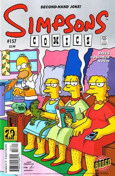 Simpsons Comics 157