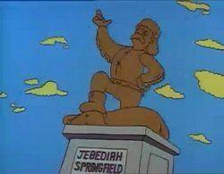 Statua jebediah springfield.jpg