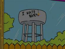 Bart pichando cx dagua 18x18