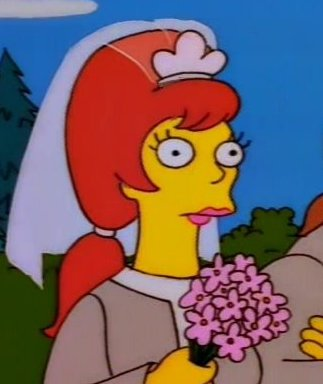 Comic Book Guy's wife (The Joy of Sect)