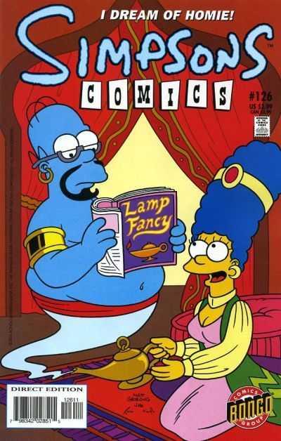 Simpsons Comics 126