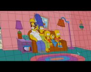 The Spy Who Learned Me Couch Gag - 3