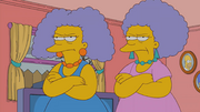 Patty and Selma in old age