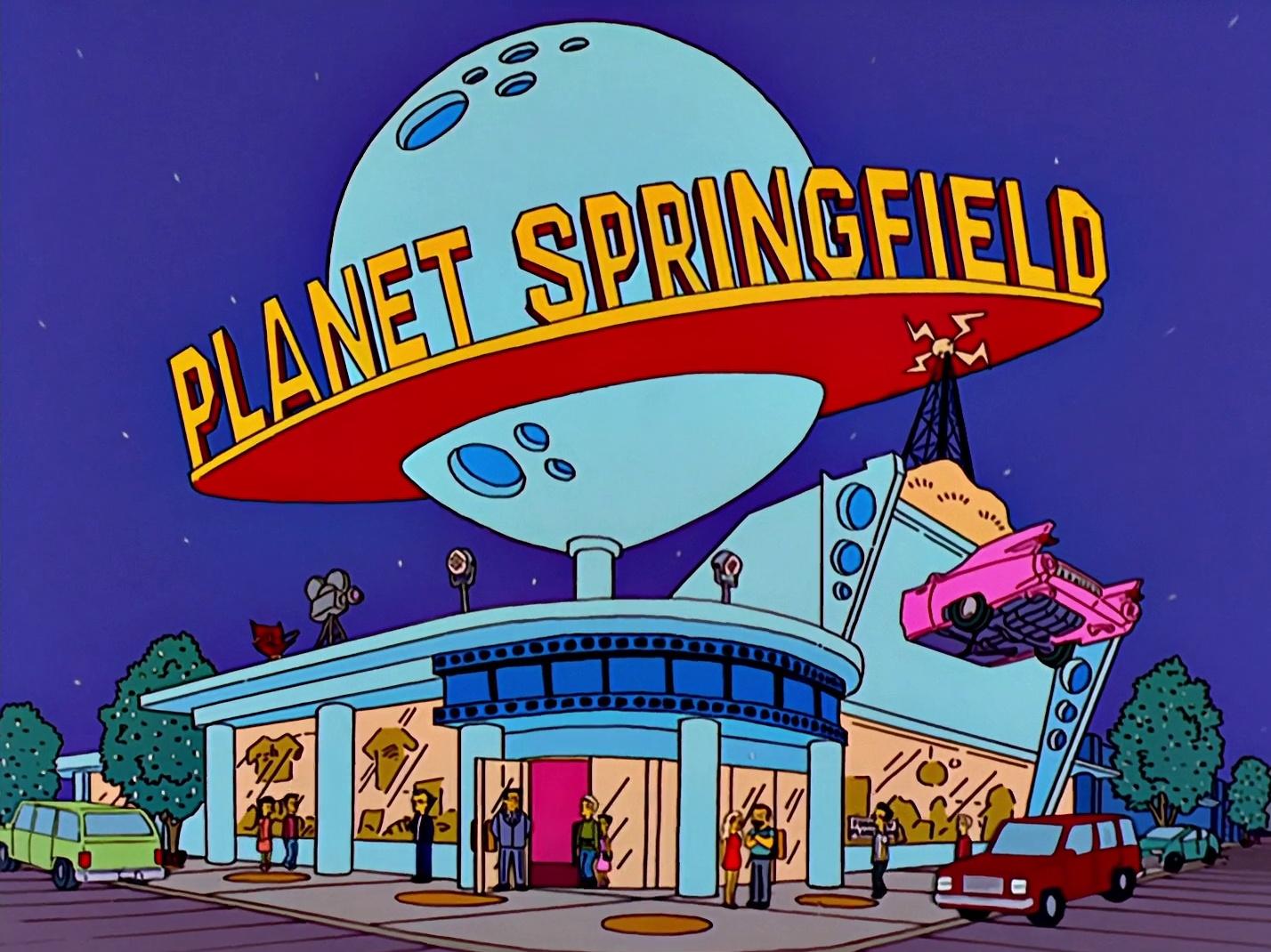 Planet Springfield