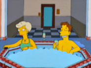 Jim and Lindsey jacuzzi