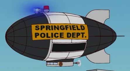Springfield Police Blimp