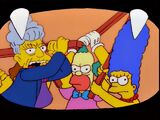 """Marge Simpson in: """"Screaming Yellow Honkers""""/References"""