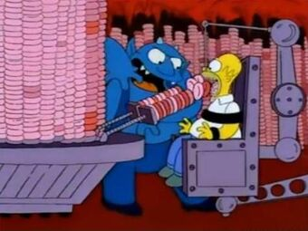 Ironic Punishment Division Simpsons Wiki Fandom