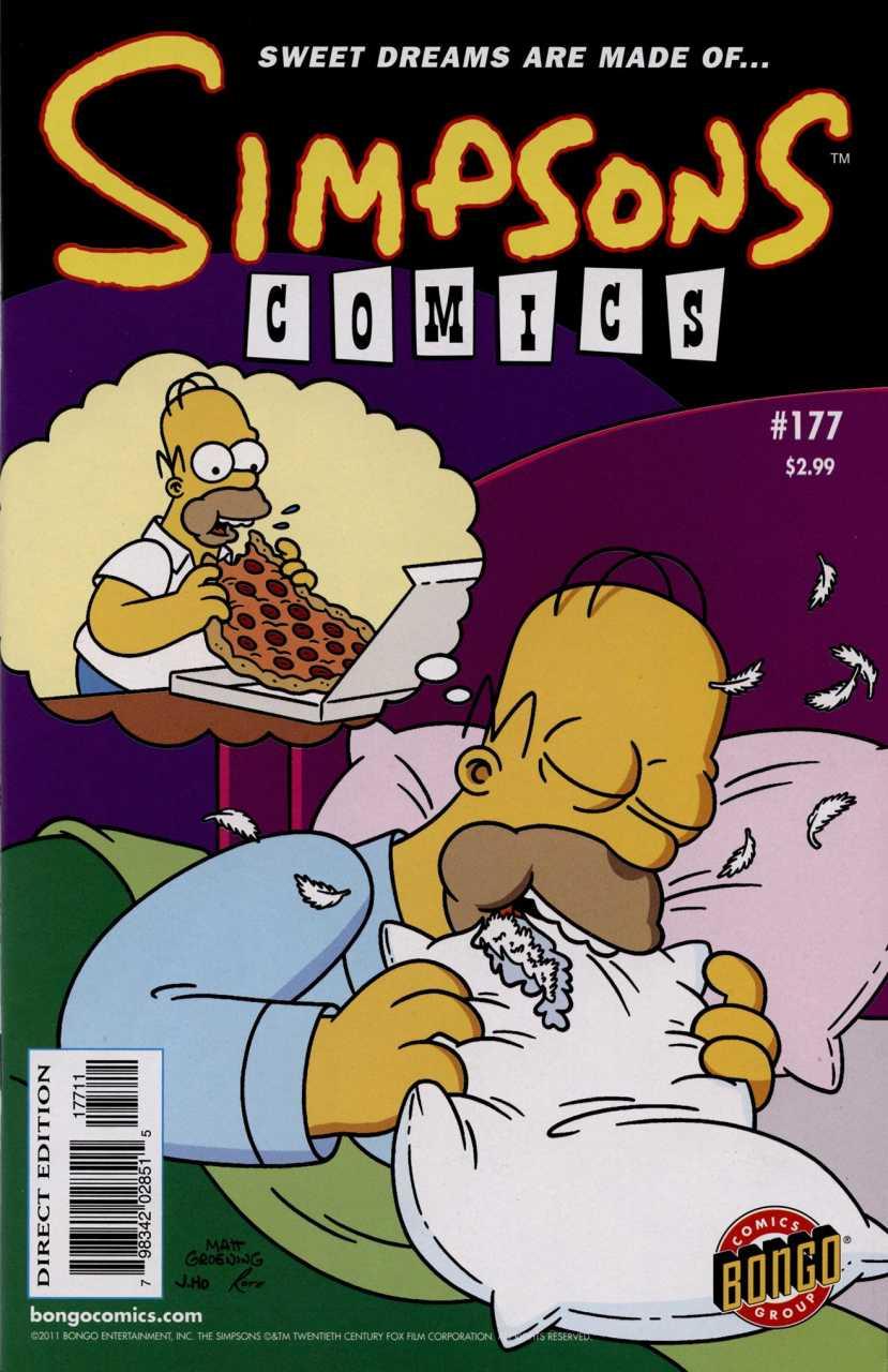 Simpsons Comics 177