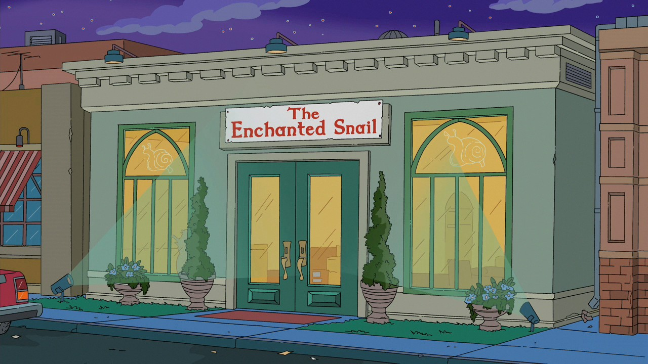 The Enchanted Snail