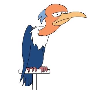 Mr. Burns' Vulture